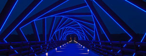 High Trestle Trail Bridge Artwork
