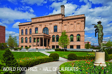 World Food Prize - Hall of Laureates