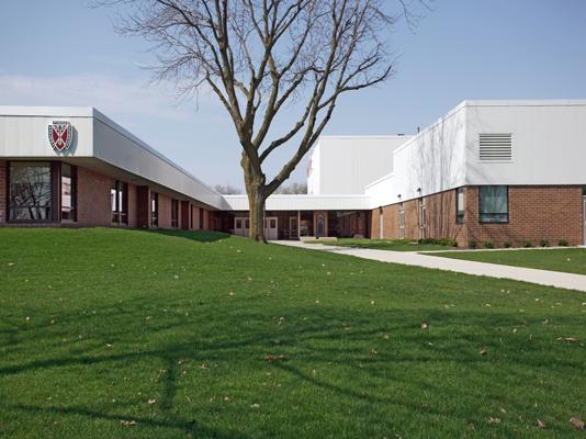 Classroom Design Types ~ Dowling catholic high school rdg planning design