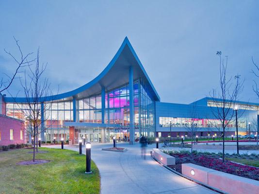 معماری ورزشگاه