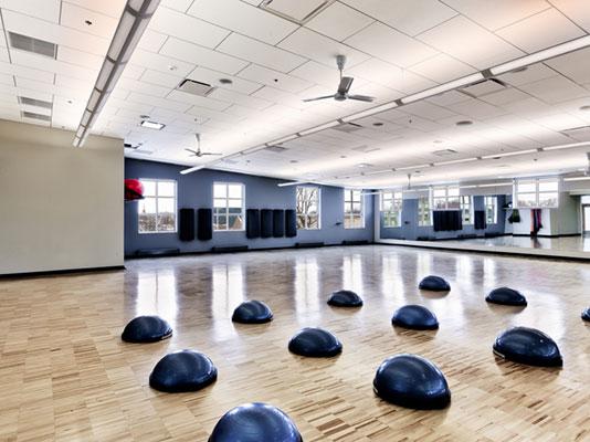 مجتمع ورزشی ، طراحی سالن ورزشی