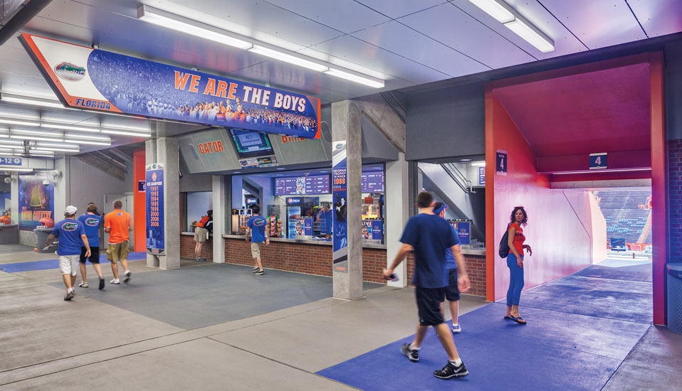 University of Florida, Stadium West Concourse - Gainesville, FL