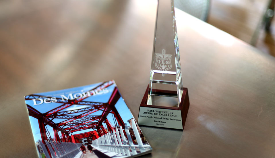 Union Pacific Railroad Bridge Renovation - Award of Excellence