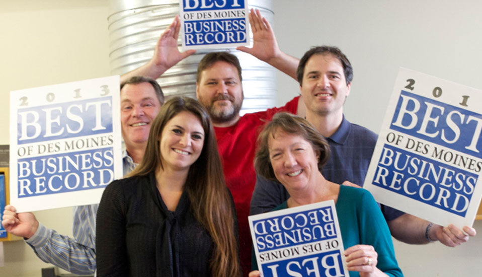 The Business Record - 2013 Best of Des Moines
