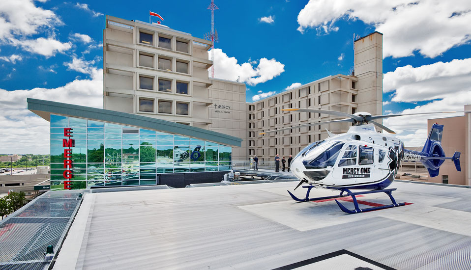 Mercy Medical Center Des Moines Emergency Department - Des Moines, Iowa
