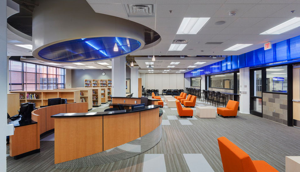 RDG Interior Design Des Moines Career And Technology Center