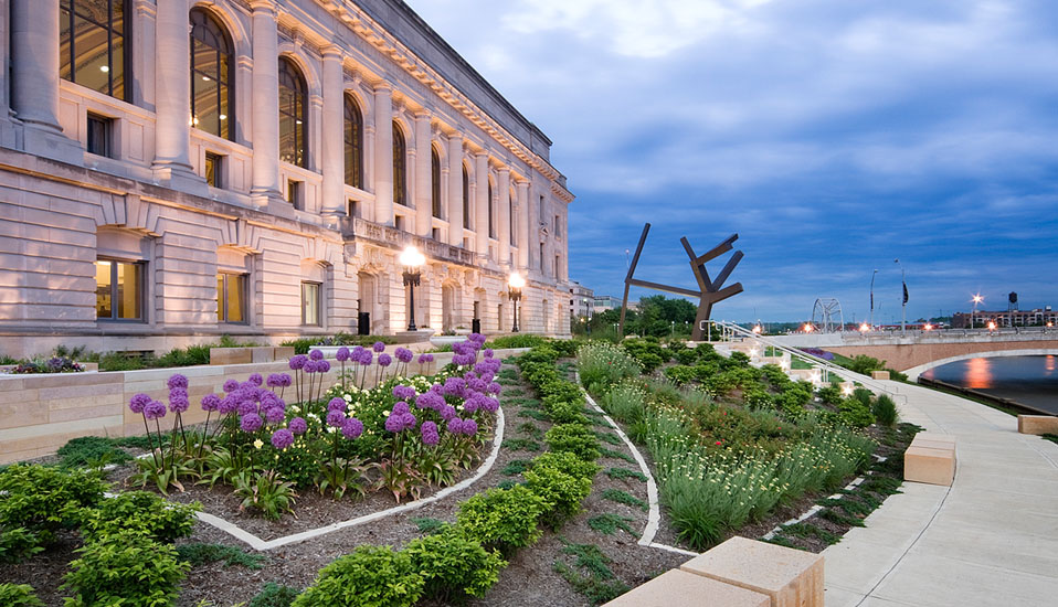 Civic Garden & City Hall Improvements - Des Moines, Iowa