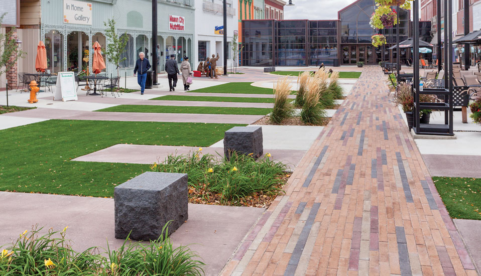 Federal Avenue Streetscape and Utility Improvements - Mason City, Iowa