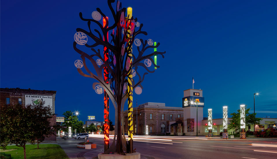 South Omaha Streetscape Revitalization - Omaha, Nebraska