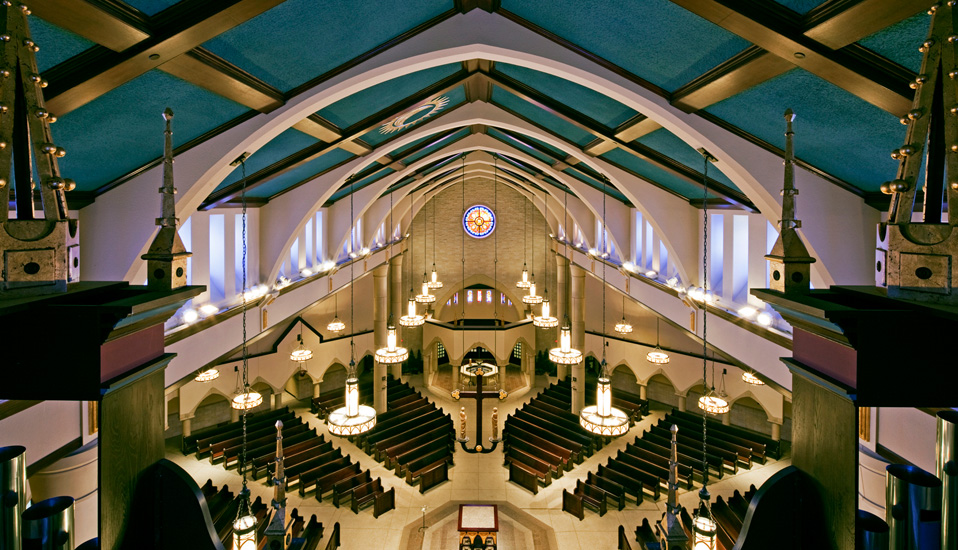 The place where you gather to worship should be uplifting and special