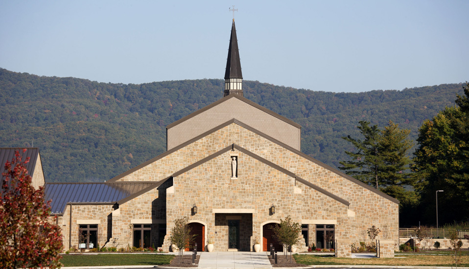 St. Mary's Catholic Church - Blacksburg, Virginia