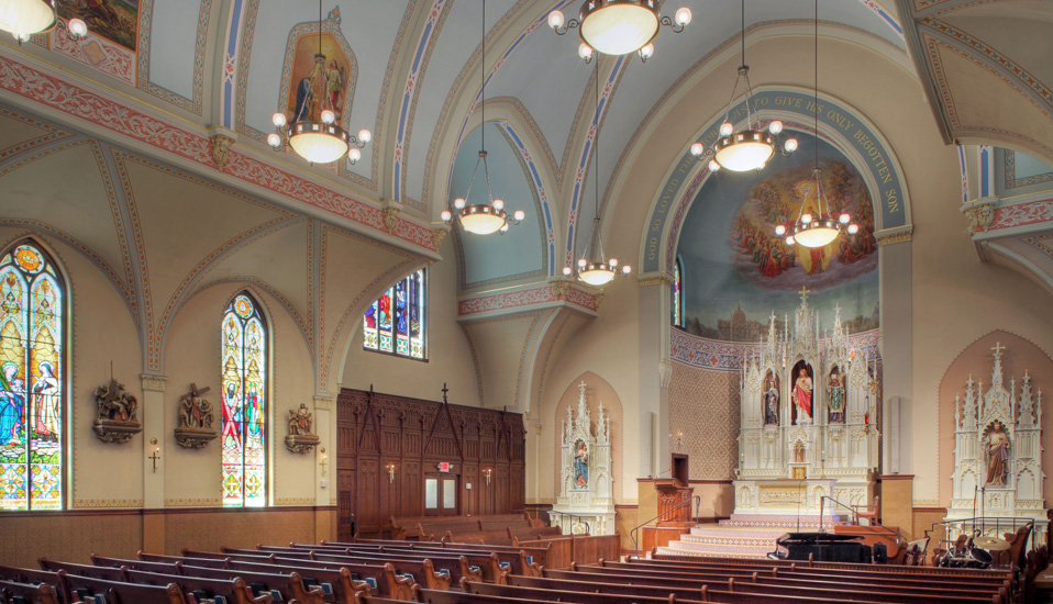 Sacred Heart Catholic Church Rdg Planning Amp Design