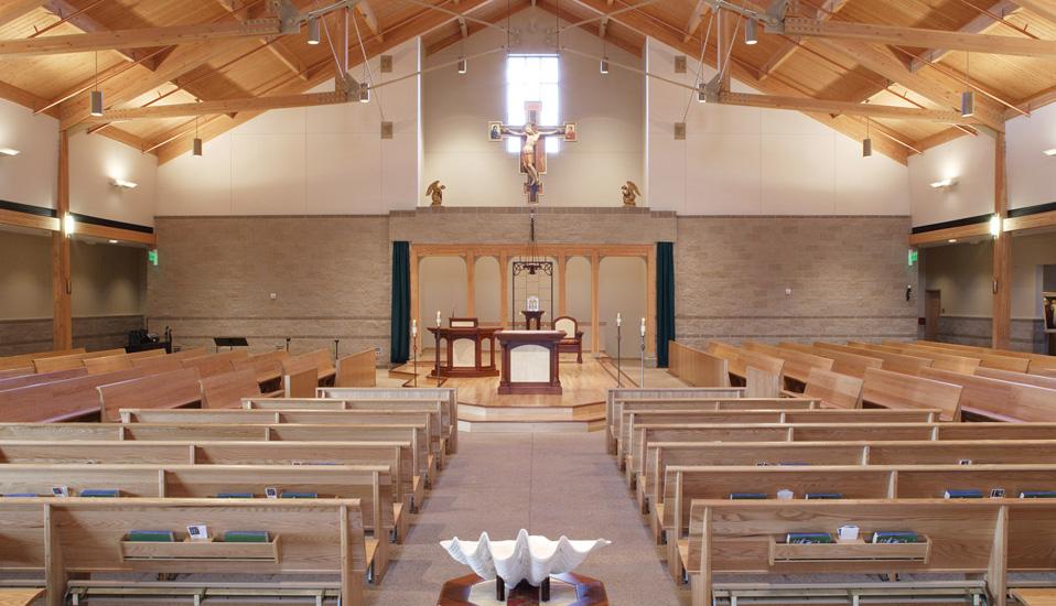 St Gabriel The Archangel Catholic Church Rdg Planning Design