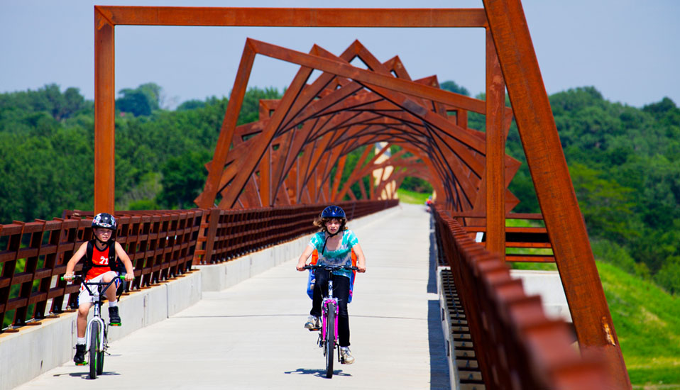 From Here to There: High Trestle Trail Bridge Public Art ...