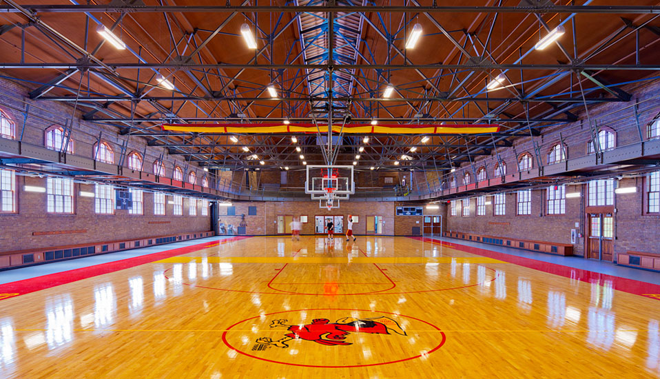 iowa state university state gym expansion renovation rdg