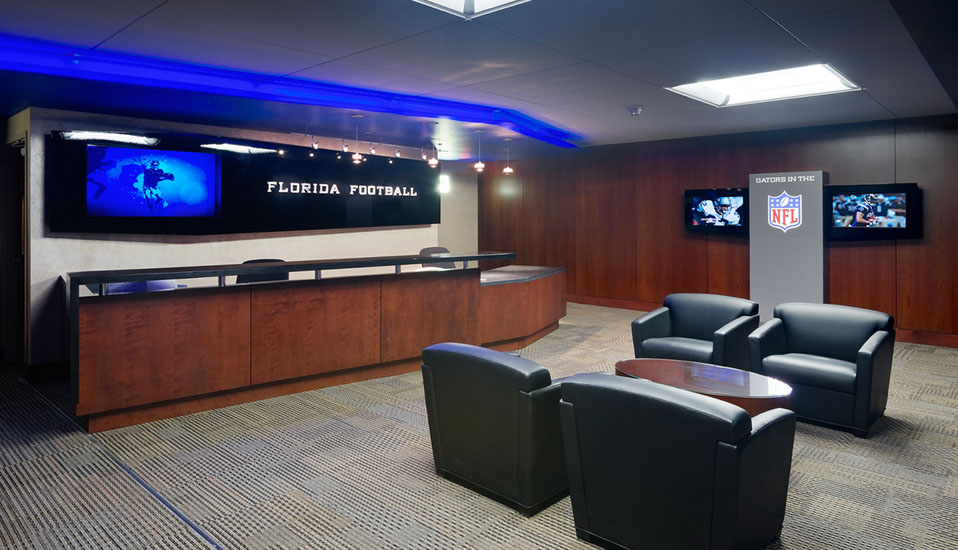 University Of Florida Heavener Football Complex Rdg