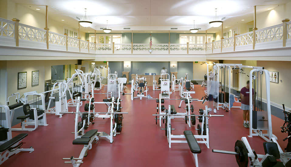 Fort Monroe Us Army Fitness Facility Tradoc