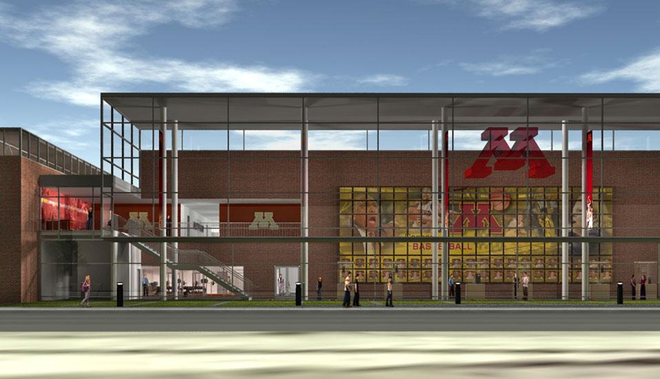 University Of Minnesota Basketball Practice Facility