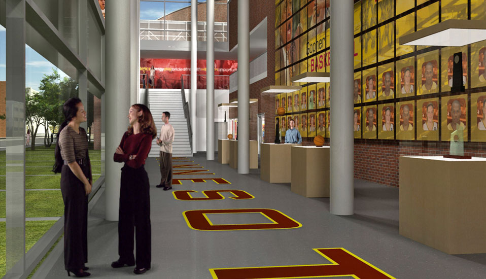 University Of Minnesota Basketball Practice Facility Planning Rdg Planning Amp Design