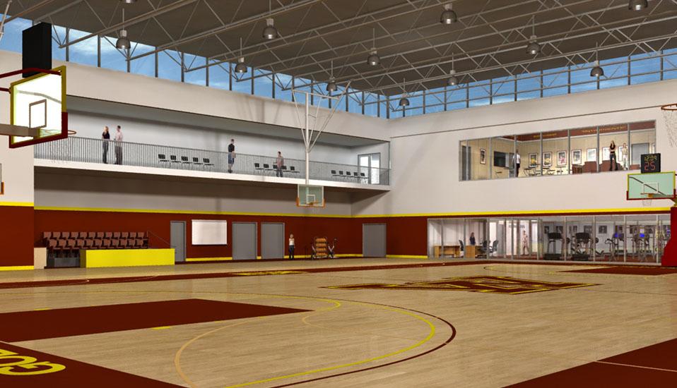 University Of Minnesota Basketball Practice Facility Planning Rdg Planning Design
