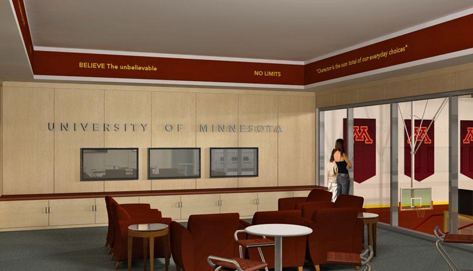 University Of Minnesota Basketball Practice Facility Planning Rdg Planning Amp Design