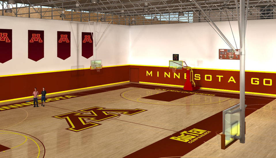 University Of Minnesota Basketball Practice Facility