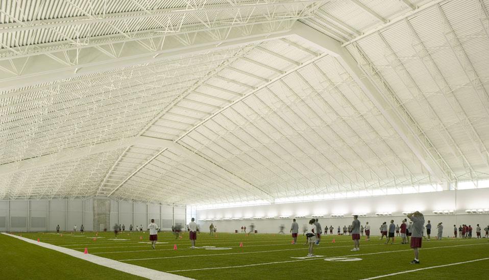 Iowa State University Bergstrom Indoor Training Facility Rdg Planning Design