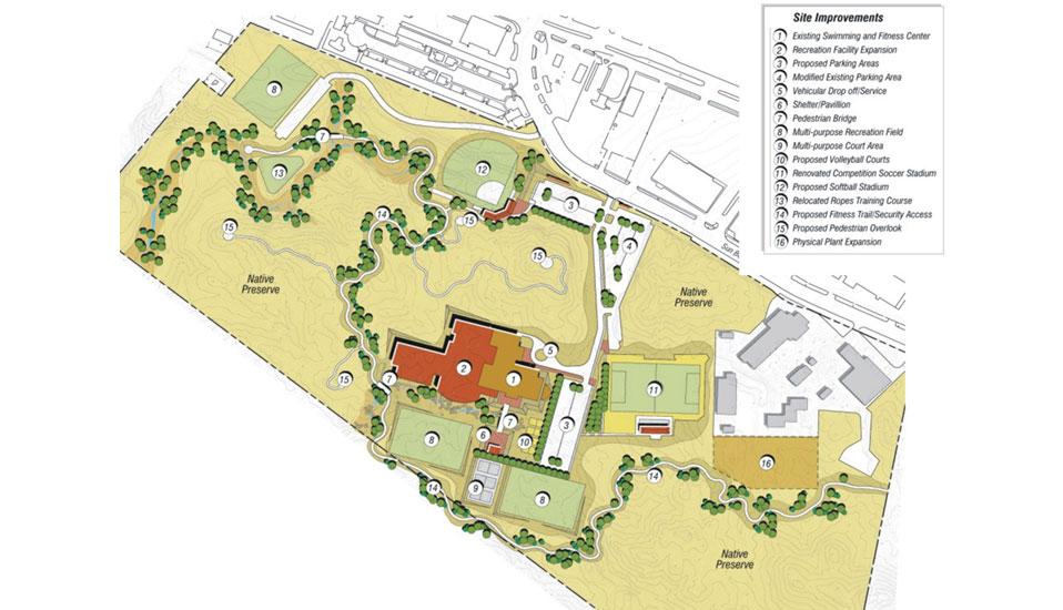 The University Of Texas At El Paso Athletic Recreation Facilities Master Plan Rdg Planning