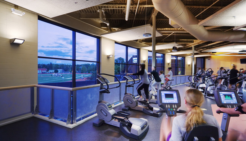 University of Minnesota Duluth Sports Health Center Addition