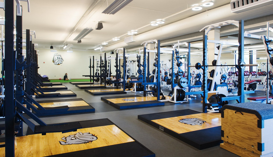 Weight Room In House