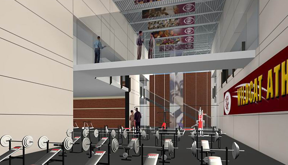 Bethune cookman college football training facility for Athletic training facility design