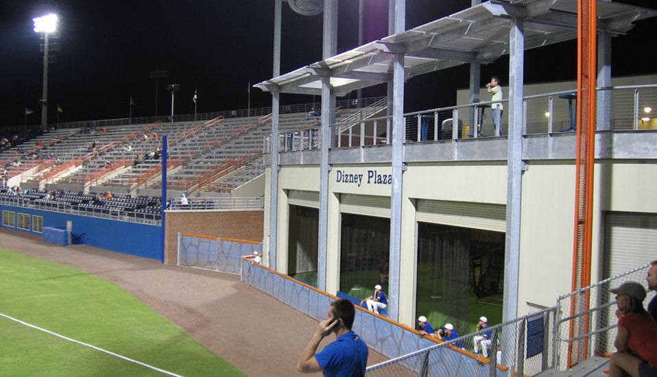 University Of Florida Baseball Locker Room Facility