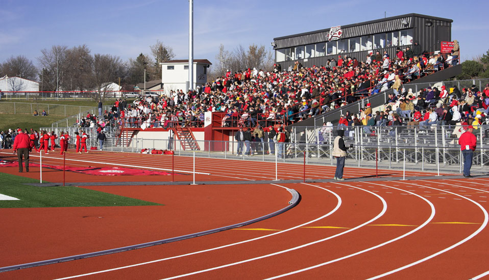 Central College Football And Track Amp Field Stadium