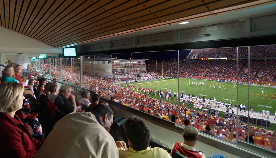 Iowa State University Jack Trice Stadium Expansion Rdg