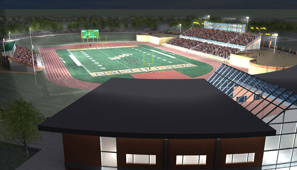 Missouri Southern State University Stadium Area Master