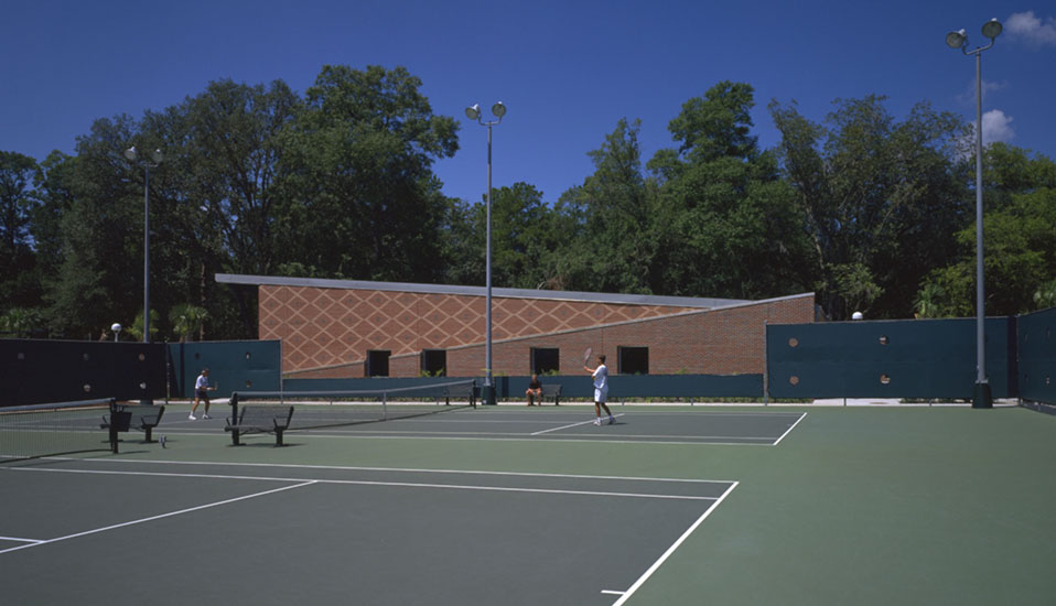 University Of Florida Alfred R Ring Tennis Complex