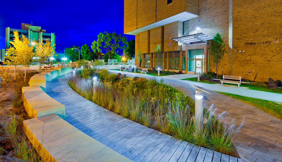Western Technical College Cleary Courtyard Rdg Planning Amp Design