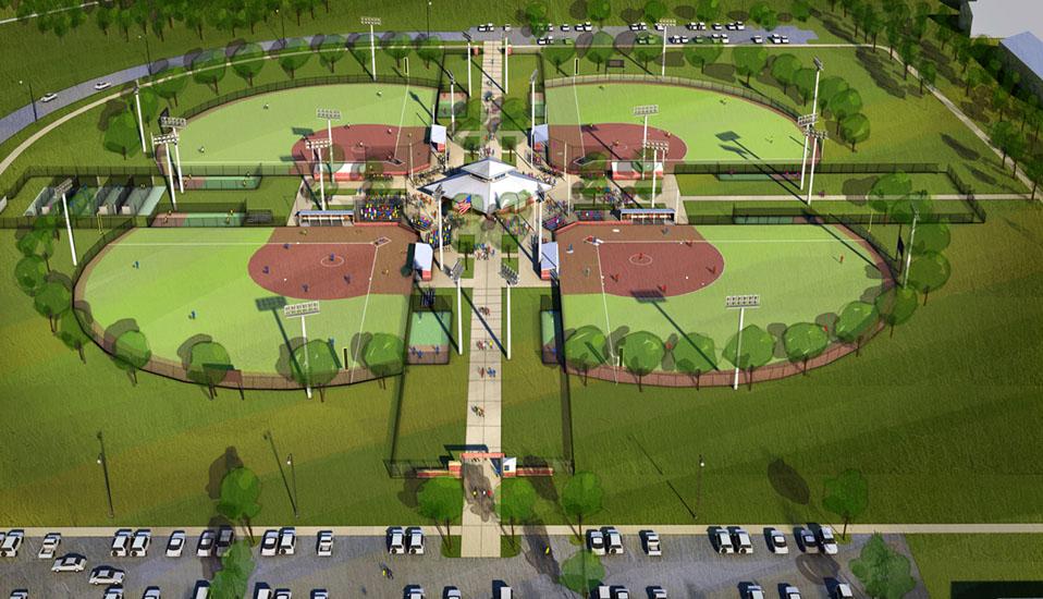 Goodman sports complex rdg planning design for Sports complex planning design