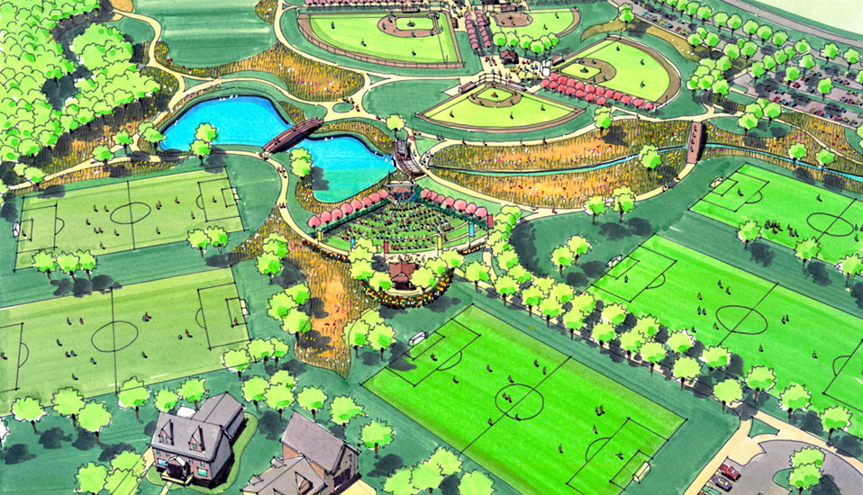 Pleasant Hill Youth Sports Complex Rdg Planning Design