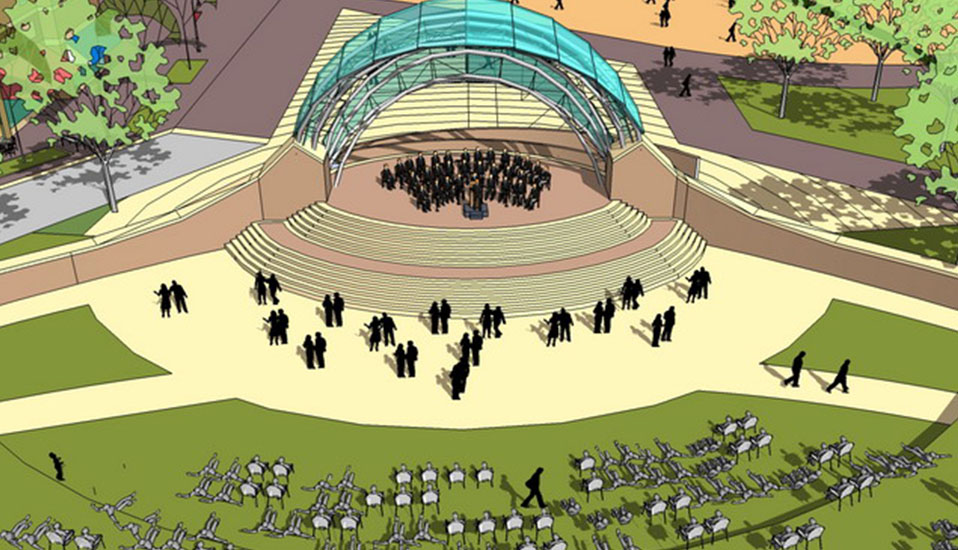 Arnolds Park Outdoor Amphitheatre Rdg Planning Design