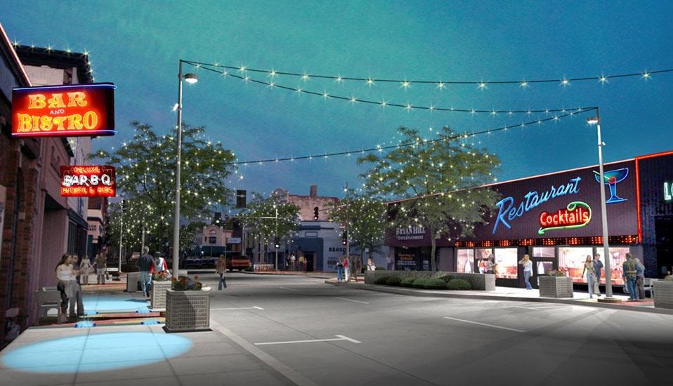 Downtown Benson Streetscape Improvements Rdg Planning