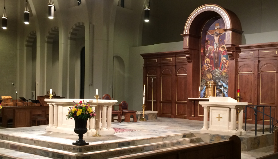 St. Mary Cartholic Church - Joplin Mo December 2014 dedication
