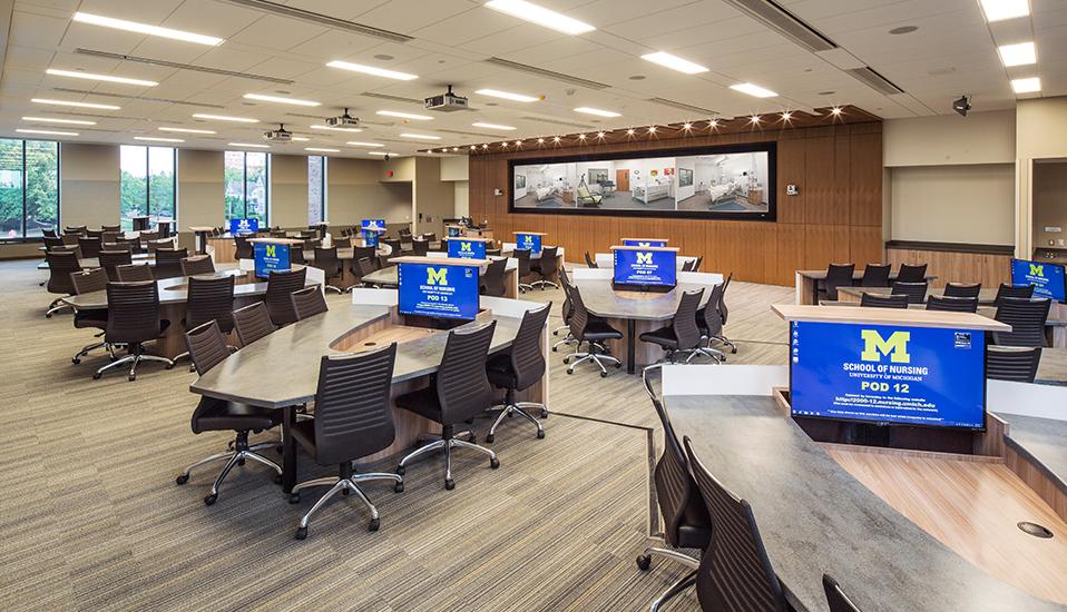 University Of Michigan School Nursing RDG Planning Design