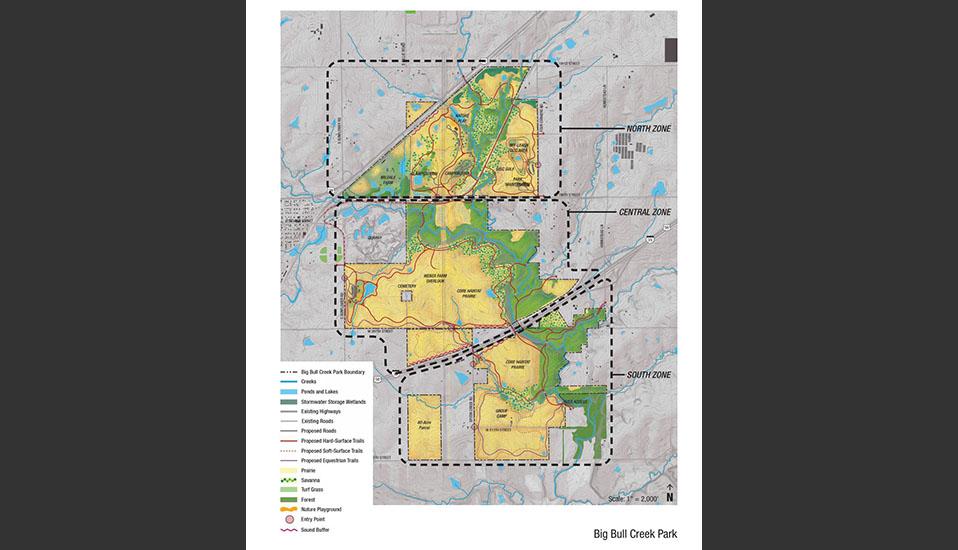 Big Bull Creek Park Master Plan Rdg Planning Amp Design
