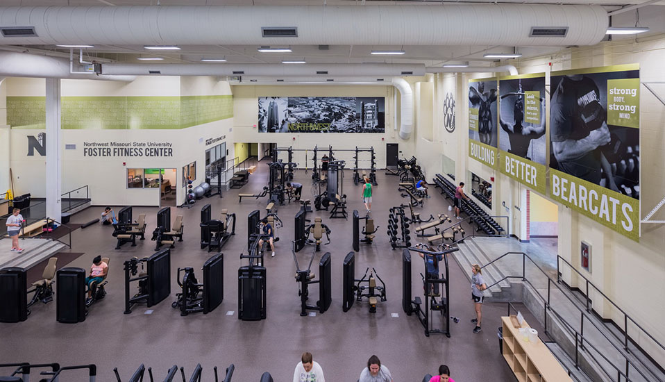 northwest missouri state university foster fitness center