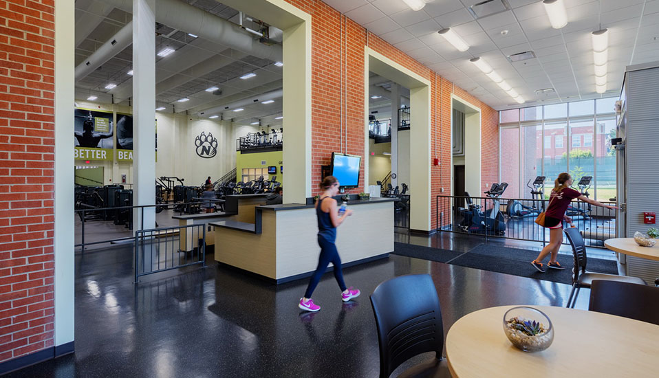 Northwest Missouri State University Foster Fitness Center Rdg Planning Design