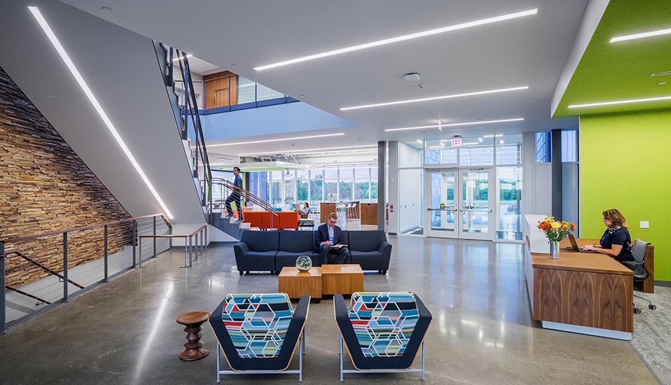Iowa State University Economic Development Core Facility Rdg Planning Design