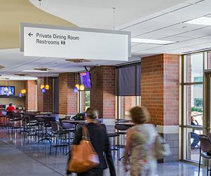 Des Moines University Wayfinding And Signage Program