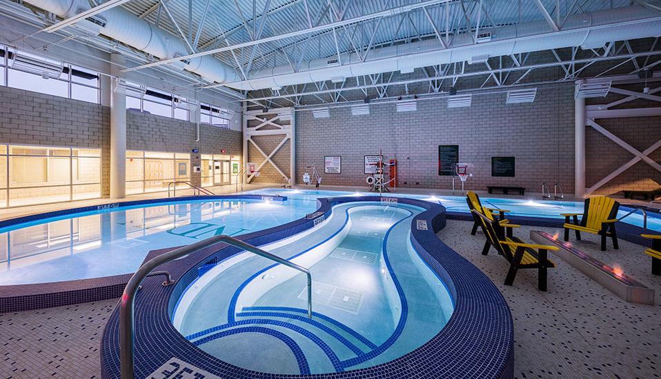 north dakota state university wallman wellness center aquatics addition rdg planning design