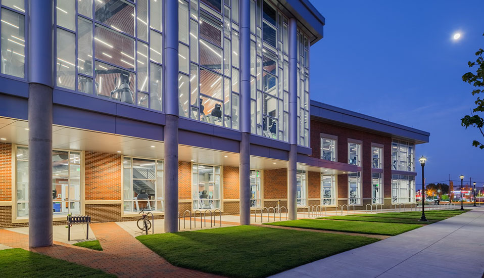 University of north carolina greensboro leonard j kaplan for J j school of architecture
